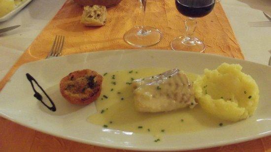 Restaurant Les trois Lys : Cabillaud très frais