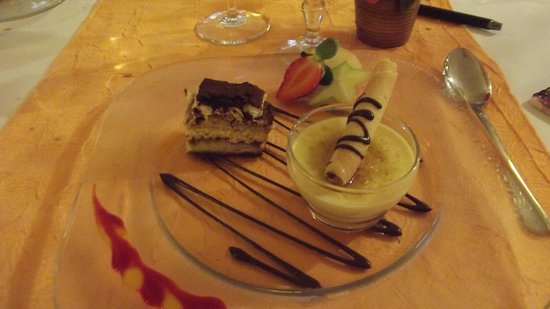 Restaurant Les trois Lys : gourmandises