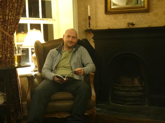 Keld Lodge :                   Residents lounge very warm and cosy