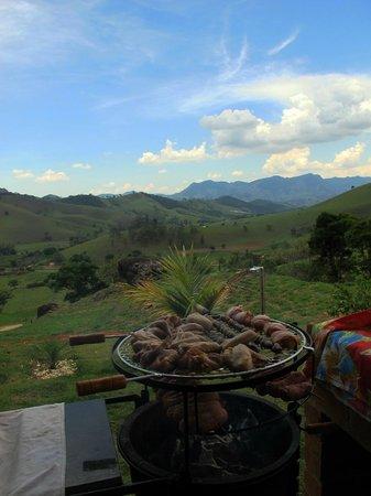 Pousada Caminho da Mata:                                     View from Barbecue deck