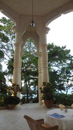 The Palace at Playa Grande:                   Patio                 
