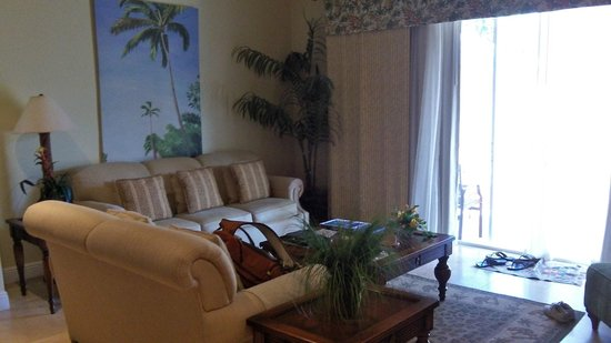 The Club at Little Cayman: Living Room