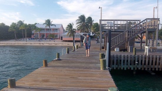 The Club at Little Cayman: Pier at the Beach Resort