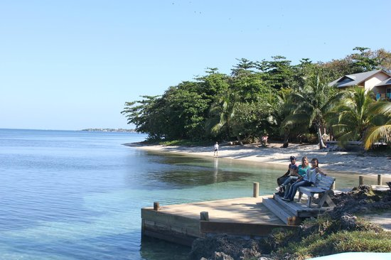 Las Rocas Resort & Dive Center:                   Vista desde Las Rocas