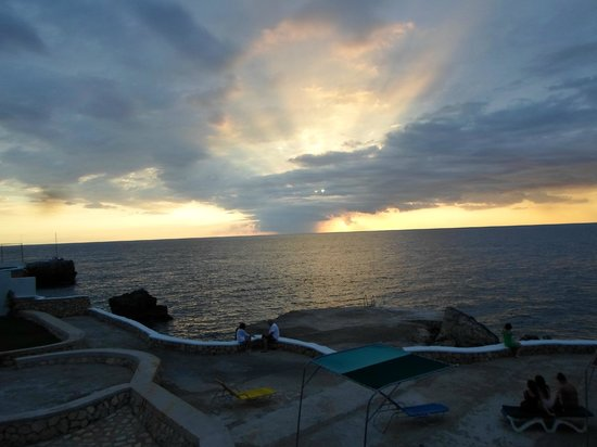 Samsara Cliffs Resort:                   View off the balcony