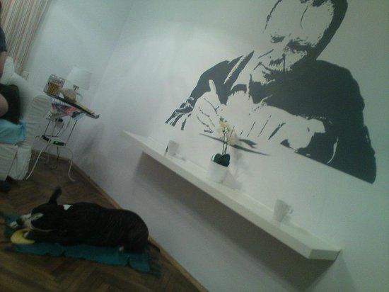 Mój pies świetnie bawił się w Nobel Suites