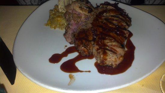 Mark's American Cuisine: veal chop