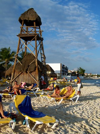 IBEROSTAR Paraiso Del Mar:                   The beach front