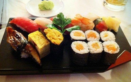 Endo:                   Sushi Moriawase