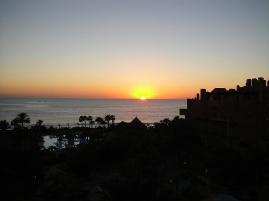 Sheraton La Caleta Resort & Spa, Costa Adeje, Tenerife: sunset