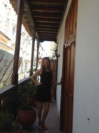 Alfiz Hotel :                   balcony of room 8
