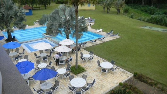 Hotel Vale Real Itaipava:                   Vista aérea da piscina