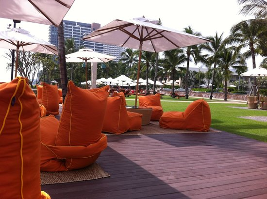 Sheraton Hua Hin Resort & Spa: Luna Lanai - chill out