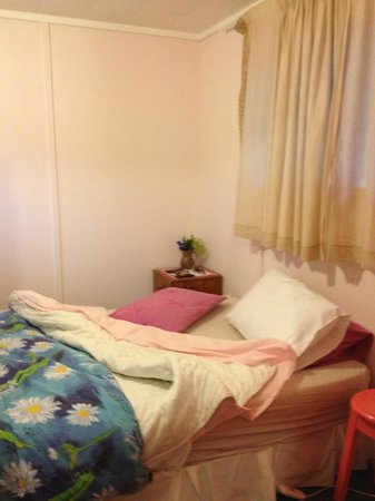Kingston Holiday Park:                                     Separate bedroom with full bed and bunk beds