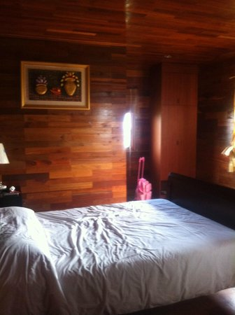 KTM Resort Batam:                   Facing the Wardrobe & Toilet