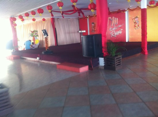 KTM Resort Batam:                   This is the so called stage and empty space