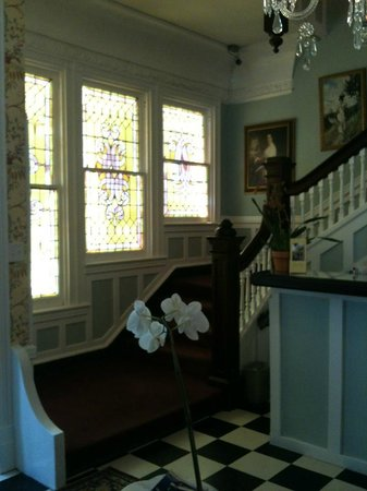 Park View Historic Hotel and Guest House:                   entry and staircase to upper floors