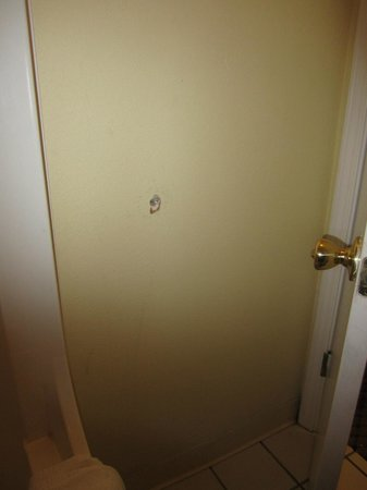 Days Inn Gulfport:                   Hole in the wall