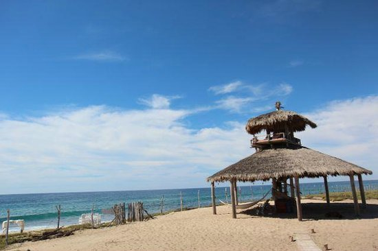 Villa Santa Cruz:                   Best seat in the house, the palapa!