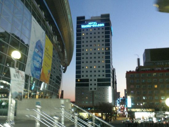 Toyoko Inn Busan No.1:                   外観