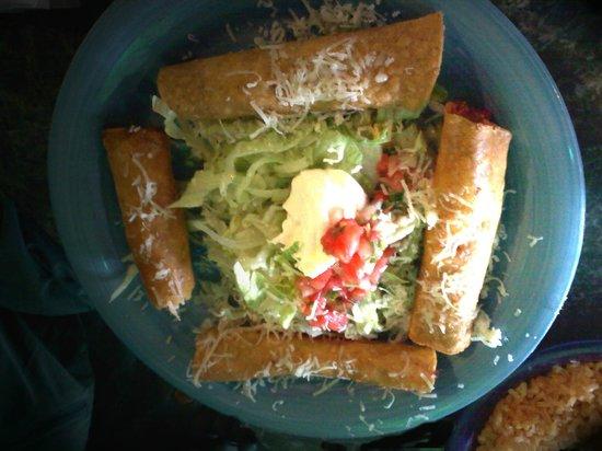 Mucho Margaritas: Chicken Flautas
