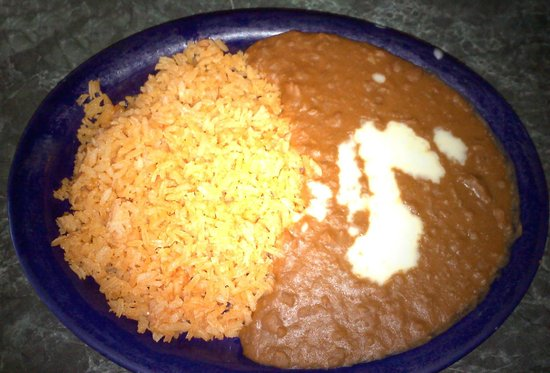 Mucho Margaritas: Side of Rice & Beans