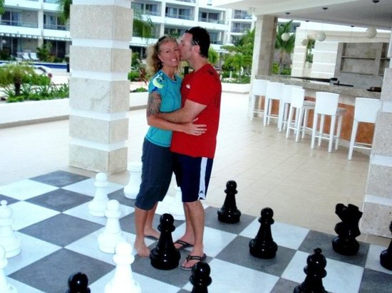 Beloved Playa Mujeres:                   Giant chess, loved it!