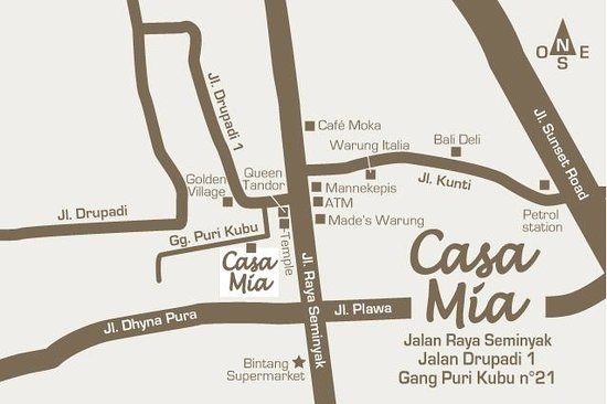 Casa Mia BnB Bali Seminyak照片