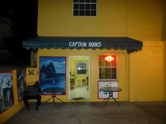 Entrance to Captain Hook's