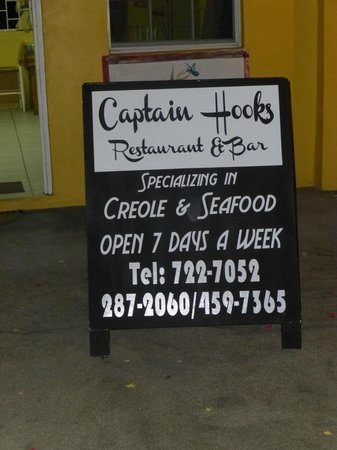 Contact info for Captain Hook's