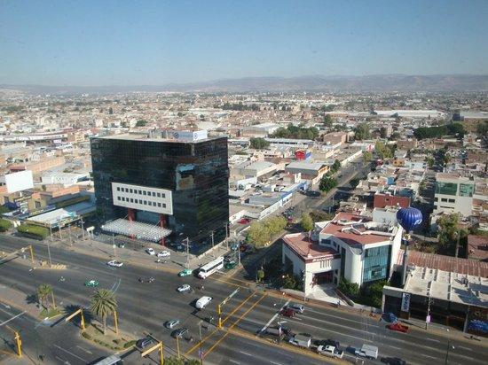 Hotel & Plaza Stadium: Vista desde la habitación