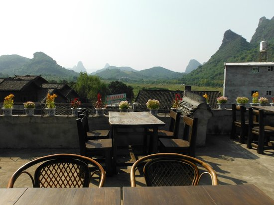 Yangshuo Village Inn:                   view from the dining room.  Bon a petit!