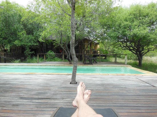 Toro Yaka Bush Lodge:                   Pure relaxation
