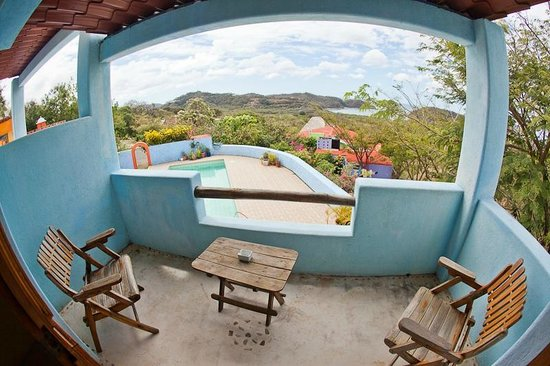 El Jardin Hotel: view from your private terrace