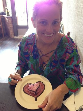 Ground Organic Living food Cafe:                   Yummy Valentines Special Desert