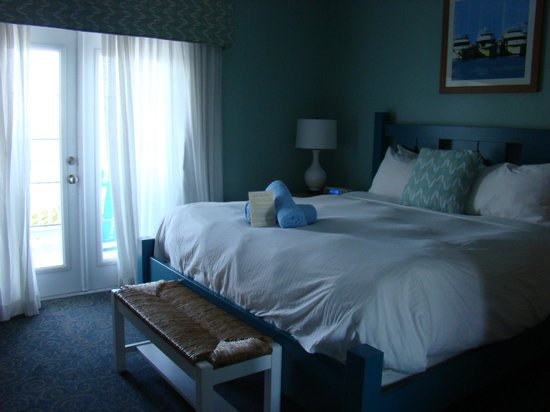 Parrot Key Hotel and Resort:                   Our Ocean-view King Suite