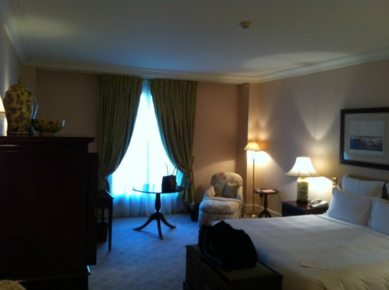 The Langham, Sydney:                   Our room on the city side