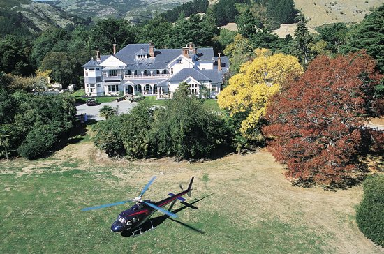 Garden City Helicopters: one of the homesteads we visit for lunch