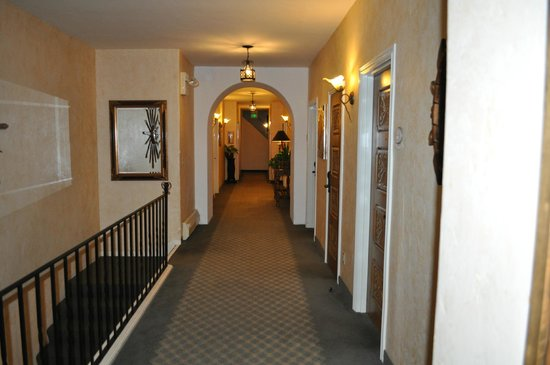 The Eagle Inn:                   Upstairs main hallway