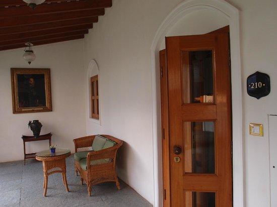 Taj Falaknuma Palace:                   Room 210