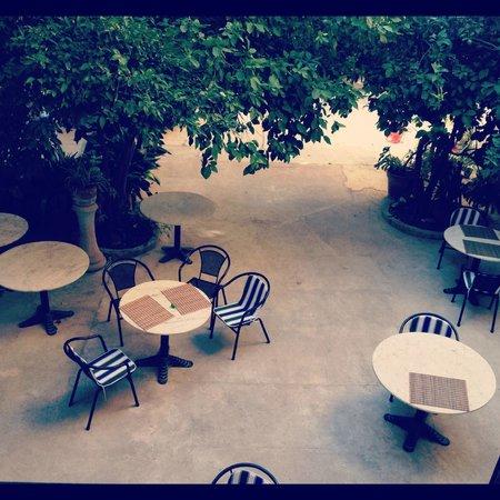 Hotel Dalt Murada: Lovely patio :)