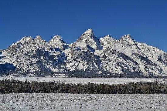 Jackson Hole, WY:                                     Grand Teton , Wyoming