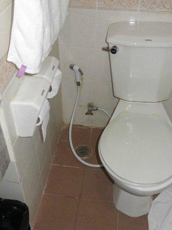 Ayothaya Riverside Hotel:                   Bathroom