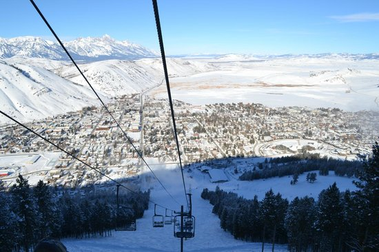 Jackson Hole, WY:                   From Snowking