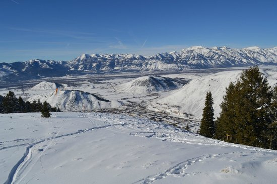 Jackson Hole, WY:                   FRom Snowking top