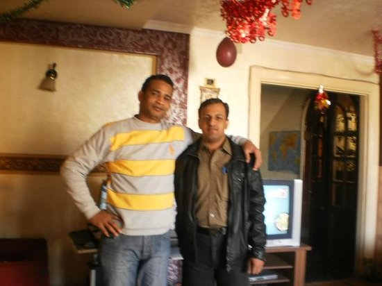 Cairo Moon Hotel:                   Shakeel and Mohmed