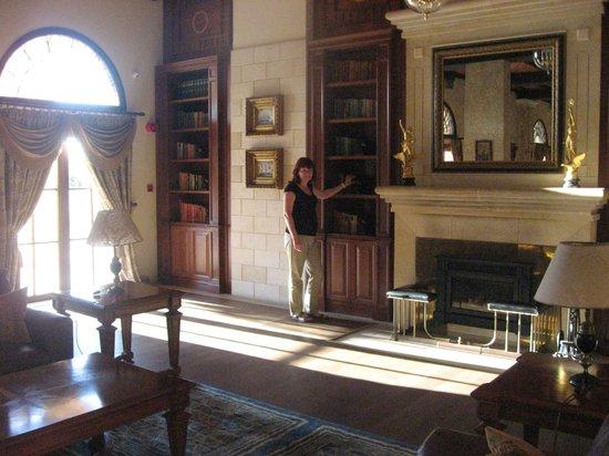 Elysium Hotel:                   Библиотека