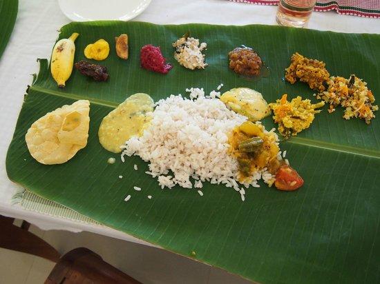 Thalli lunch