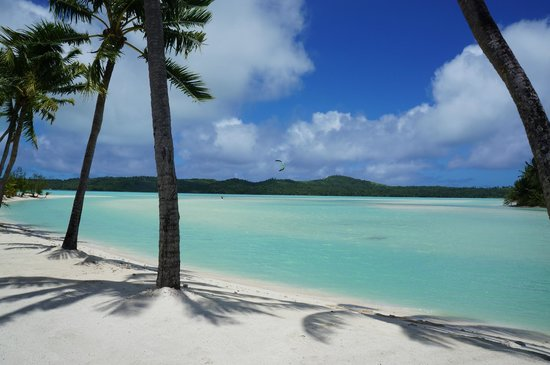 Aitutaki Lagoon Resort & Spa:                   The view from our room