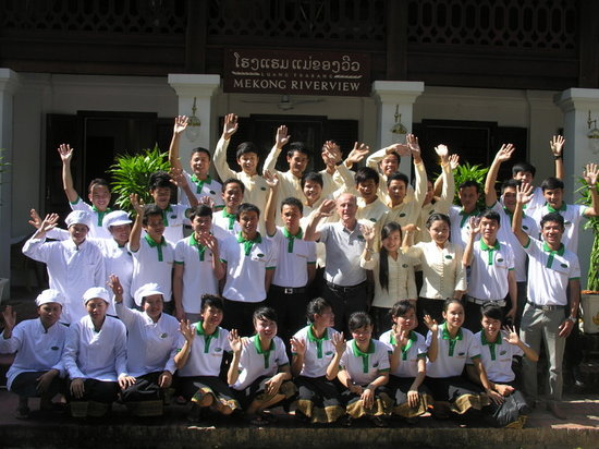 Mekong Riverview Hotel: The staff